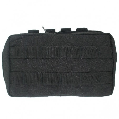 2014 Black Eagle Zipper Pouch - Black