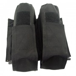 Black Eagle 100 / 140  Rounds Pods Pouch - Black