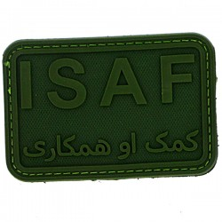 Patch PVC Isaf olive