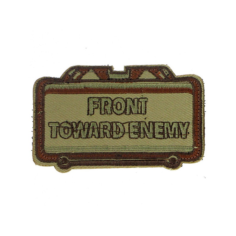 Patch écusson front toward Enemy