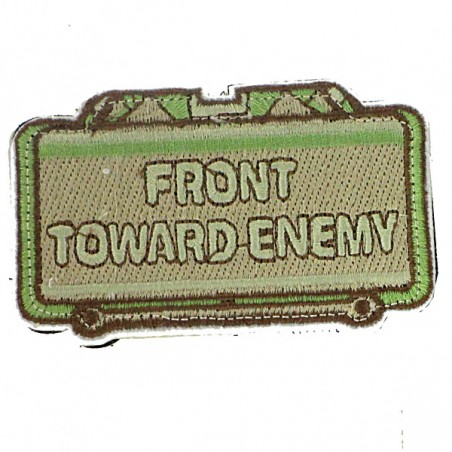 patch front toward Enemy