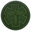 Patch pvc paramedic olive