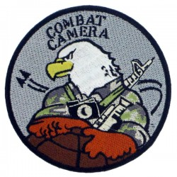 Patch airsoft combat camera