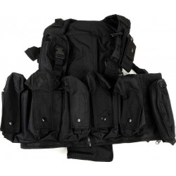 Veste tactique crs swiss arms noir