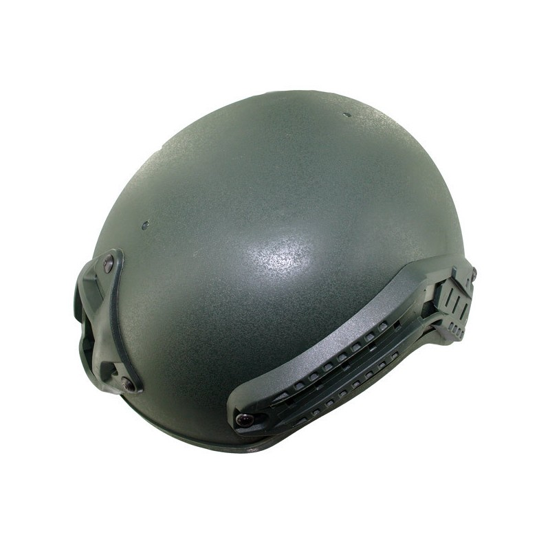 helmet GREEN Black Eagle Corporation